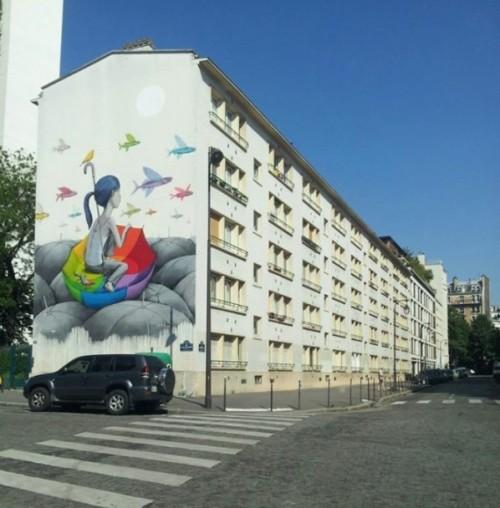 Rue Emile Deslandres à Paris