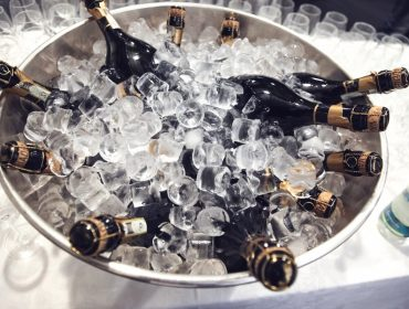 champagne-bottles-beverage-ice