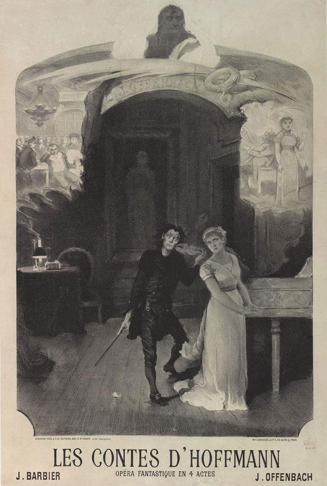 Les-Contes-d-Hoffmann-de-Offenbach-(-affiche-)©Gallica-BnF