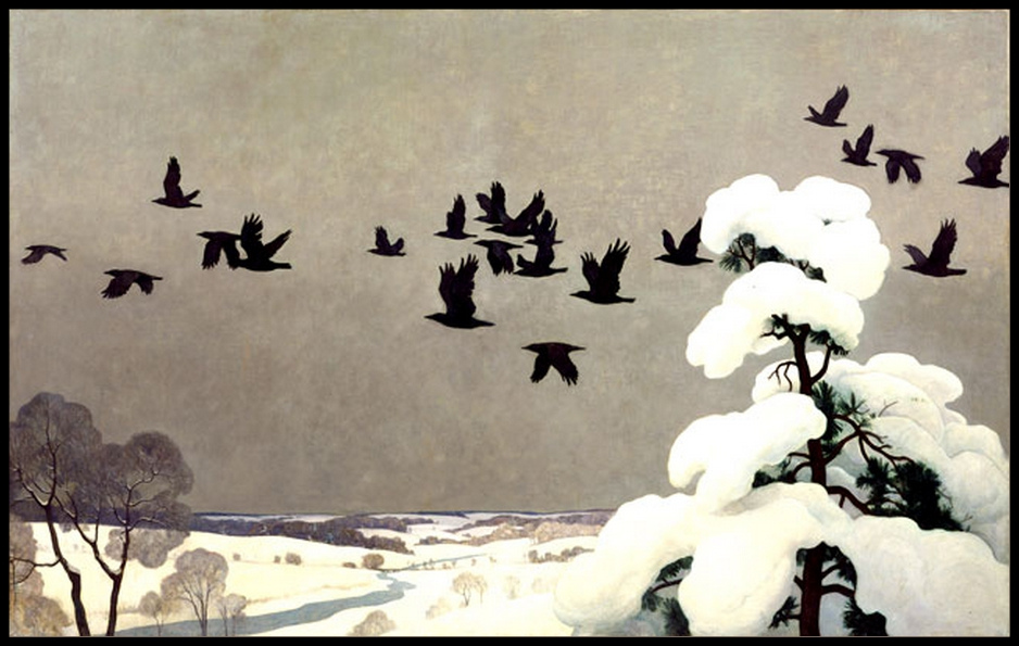 wyeth-crows-in-winter