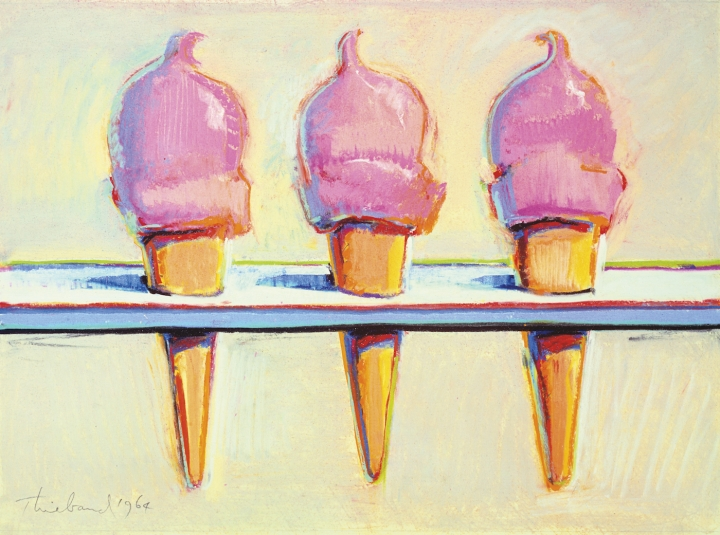 thiebaud-three-ice-creams-1964